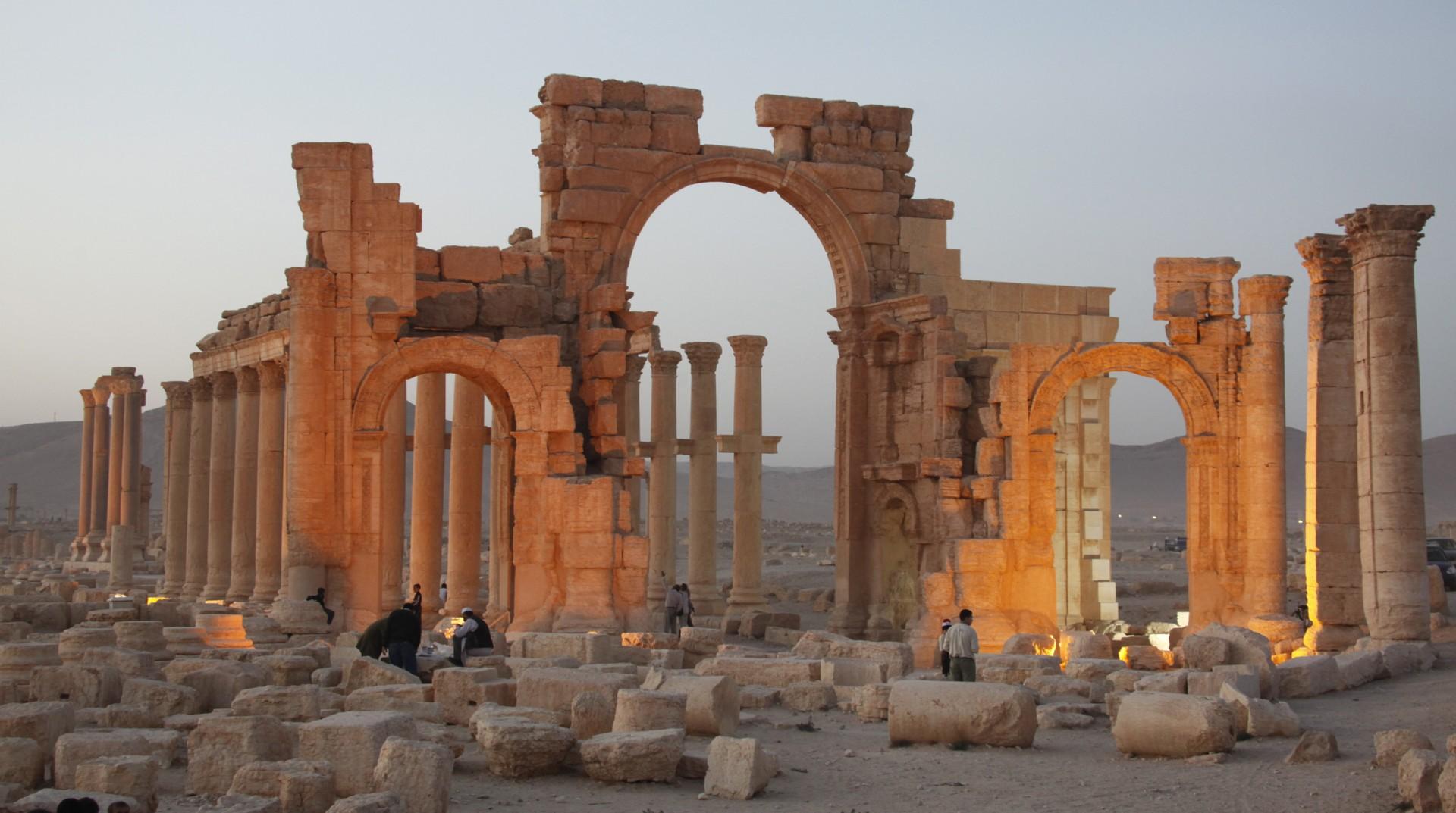 Palmira (Foto: epa).