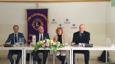 Novinarska konferenca Zveze Lions Klubov Slovenije Foto: M. G., Nova24tv