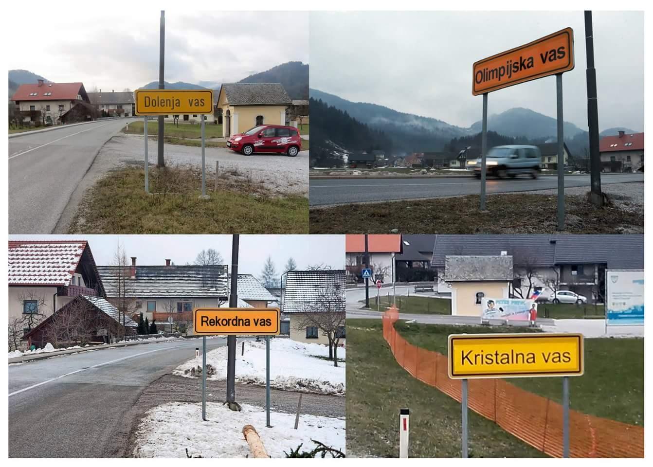 Evolucija Dolenje vasi (foto: facebook)