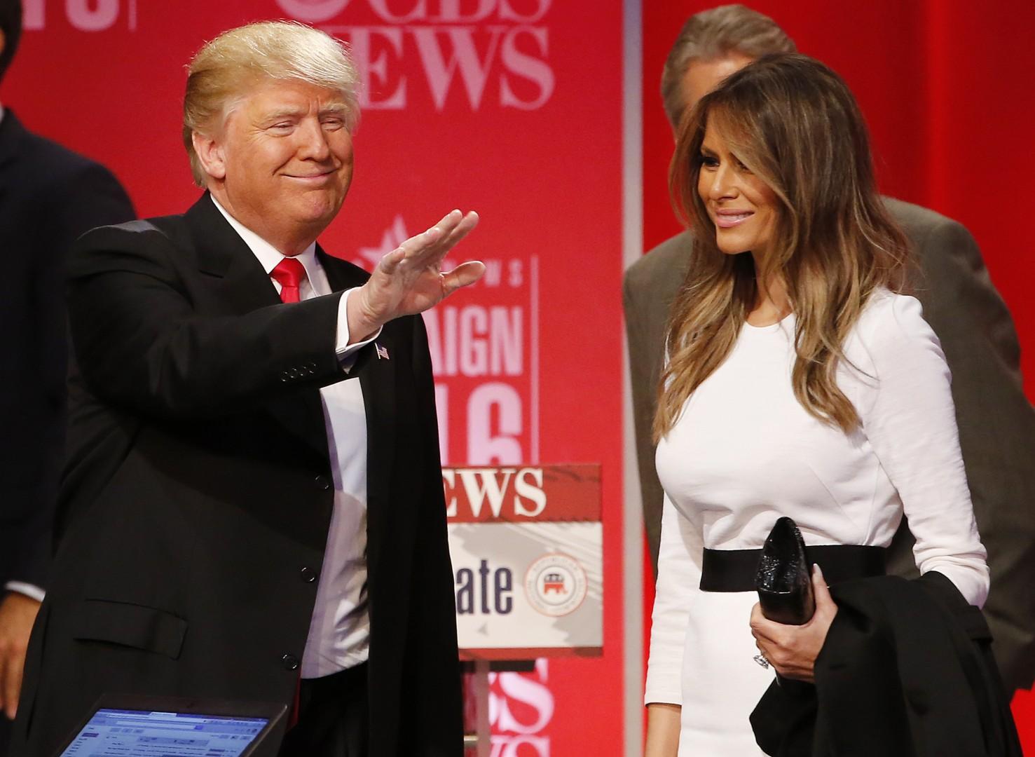 Melania je zvesta podpornica svojega moža Donalda Trumpa (Foto: epa).