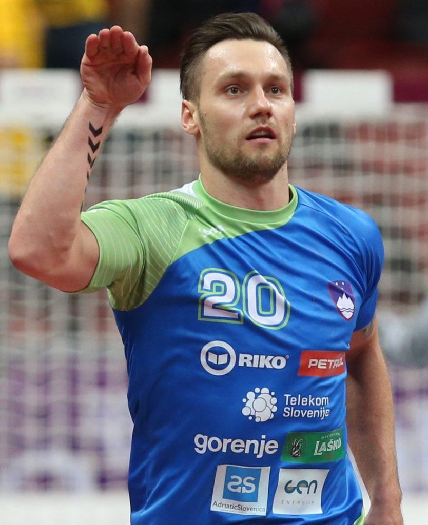 Luka Žvižej je zadetke proslavljal s 'sifonom' (foto: epa).
