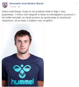 Šokantno: Tokrat pogrešani 21-letni Matic je slovenski rokometaš. Ste ga videli? 1