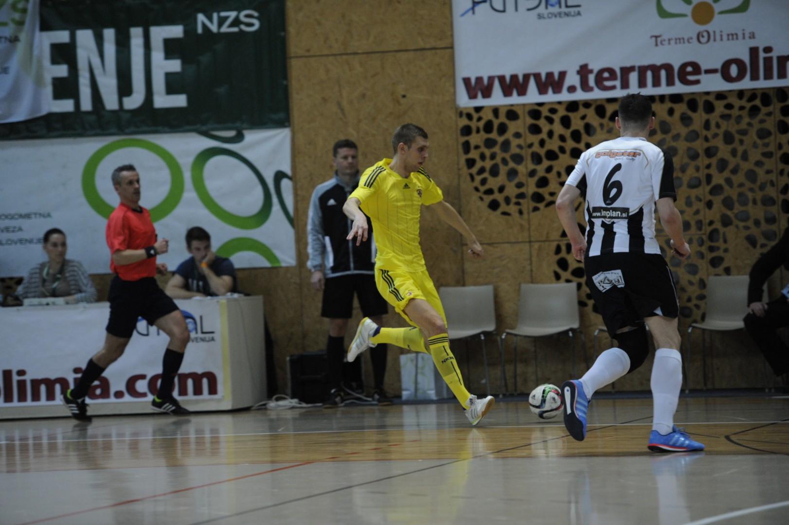Čeprav je trenutno član Maribora, mu srce bije za zeleno-belo barvo (foto: Drago Perko/futsal.si)