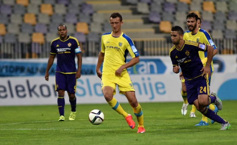 Domžale so v letošnji sezoni dvakrat že remizirale z Mariborom, enkrat tudi v Ljudskem vrtu (foto: NK Domžale).