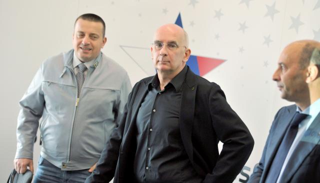 Joc Pečečnik, Igor Akrapovič in Marjan Batagelj so najbolj vidni člani Slovenian Business Cluba (foto: sta).
