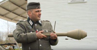 Netrzajni top Panzerfaust (Foto: Youtube)