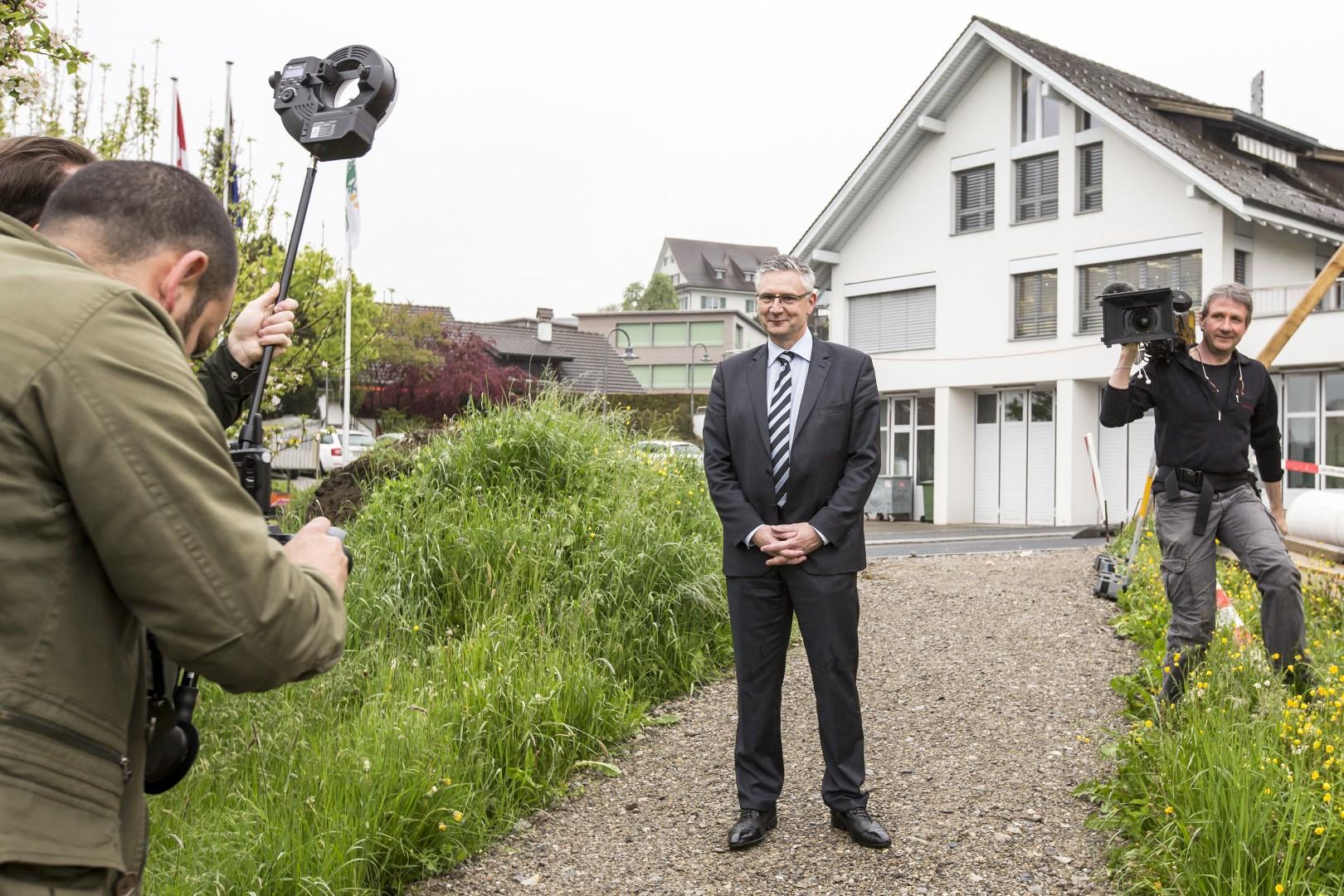 Župan Andreas Foto: epa