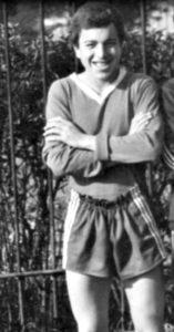 Kliton Bozgo v mladosti (foto: osebni arhiv).