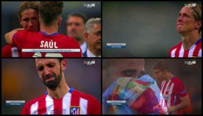 Razočarani nogometaši Atletica (foto: twitter).