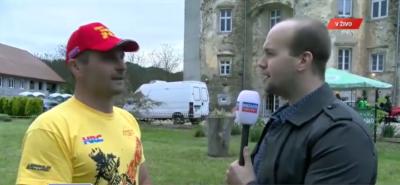 Za Novo 24TV je spregovoril Bogomir Gejser, Timov oče in trener (foto: nova24TV).