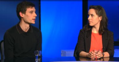 Zakonca Jaka in Ana Ahačevčič (foto: Nova24TV)