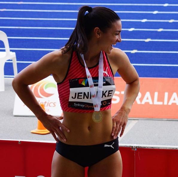 Spoznajte najbolj vročo avstralsko atletinjo 1