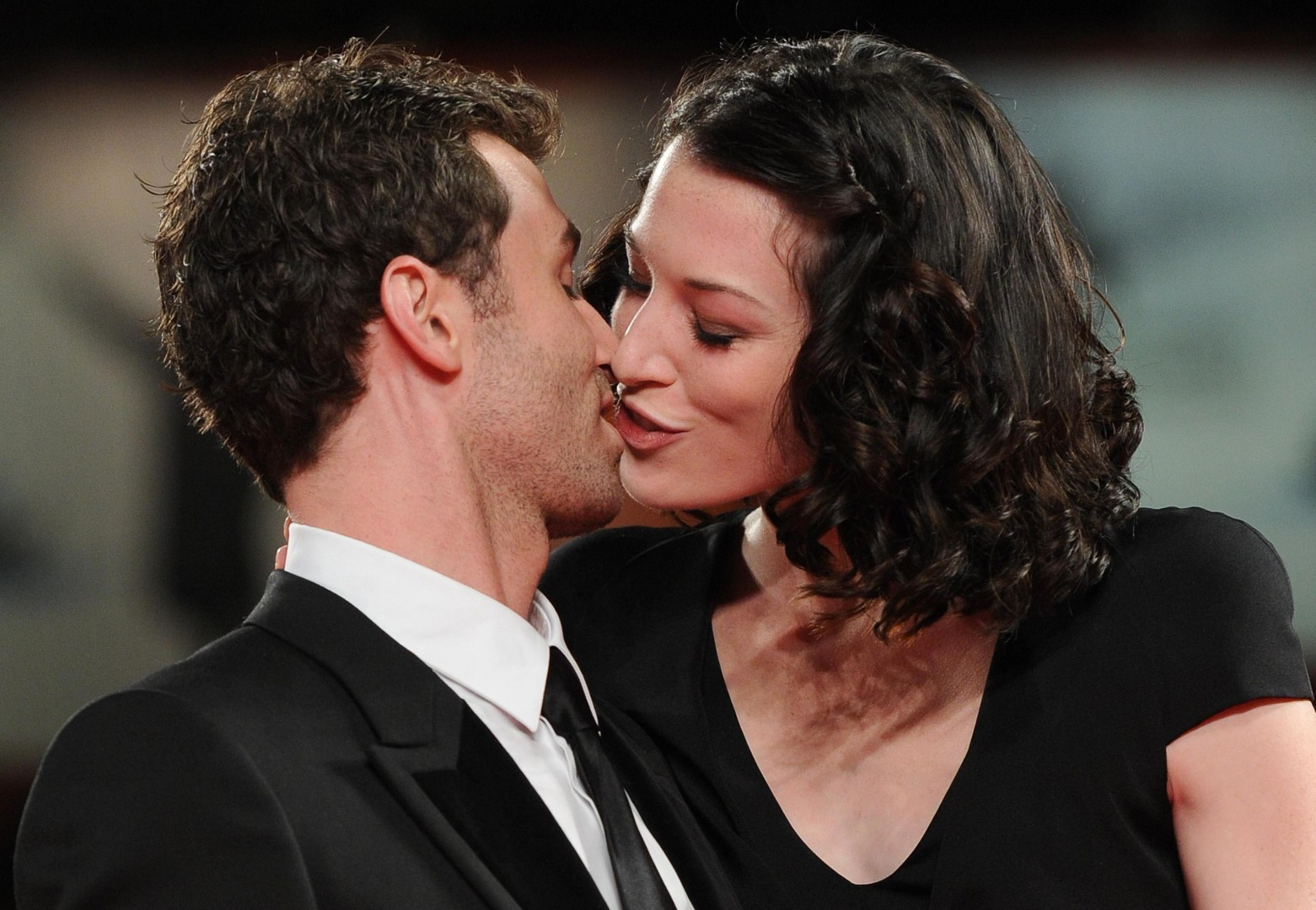 Stoya in njen nekdanji partner James Deen (foto: epa).