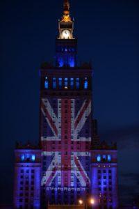 Kampanja za obstanek Velike Britanije v EU tudi v Varšavi (foto: epa)