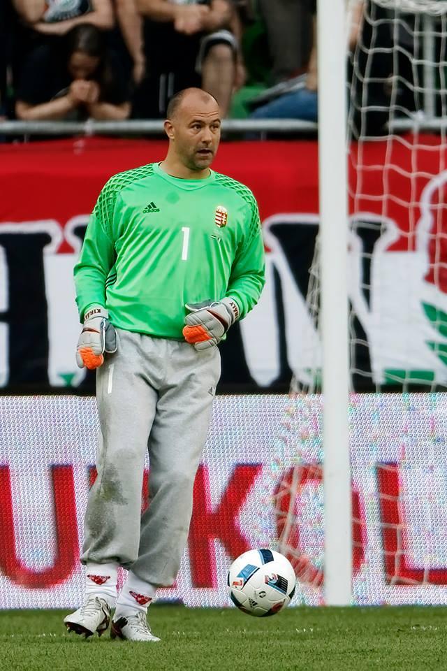 Gabor Kiraly je postal najstarejši nogometaš, ki je nastopil na EURU (foto: facebook).