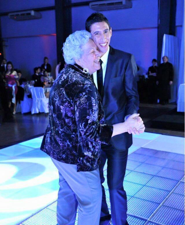 Di Maria je bil s preminulo babico v zelo dobrih odnosih (foto: Di Maria).