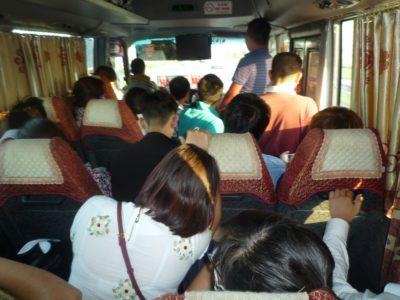 Prepoln avtobus je nekaj povsem običajnega (foto: AV)