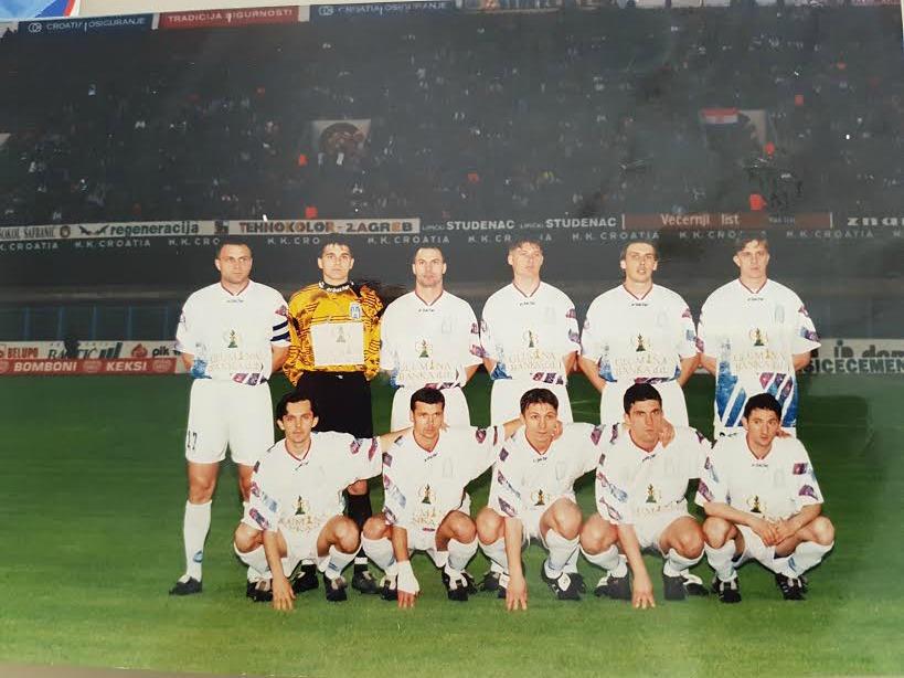 Je eden redkih Slovencev, ki je igral za zagrebški Dinamo (foto: osebni arhiv)