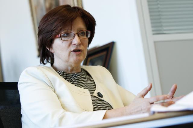 Predsednica nadzornega sveta Luke koper Alenka Žnidaršič Kranjc (foto: STA)