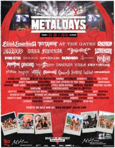 Festival Metaldays odprt - gre za dogodek z ekološko noto 1