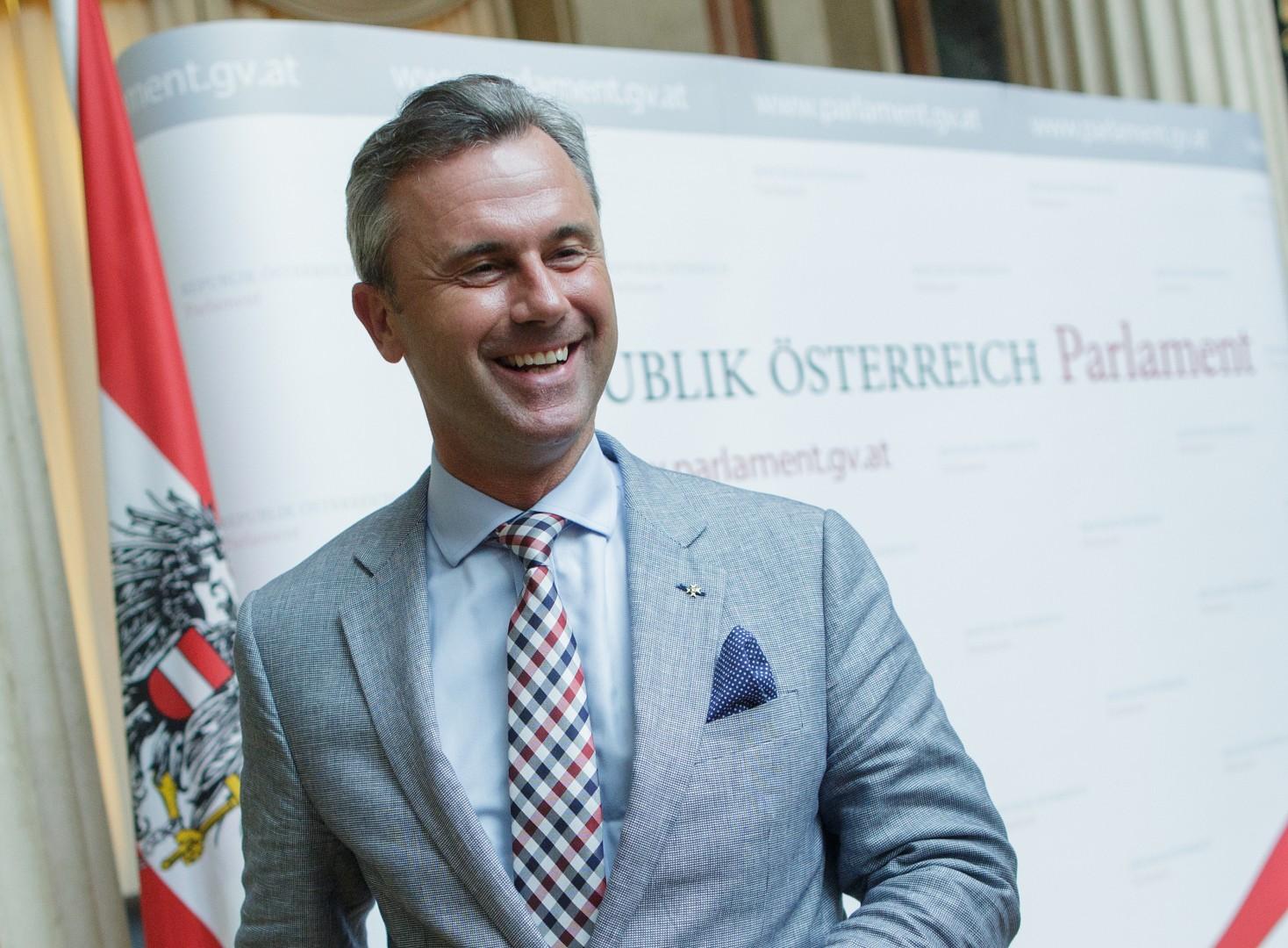 Norbert Hofer (foto: epa)