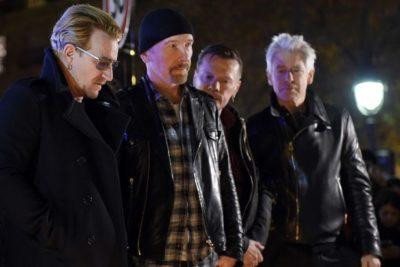 Med terorističnim napadom v Nici sta se nahajala tudi Bono in Stallone 5