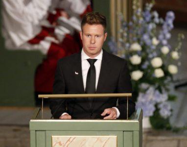 Eskil Pedersen, ki je preživel Breivikov napad, Foto: EPA