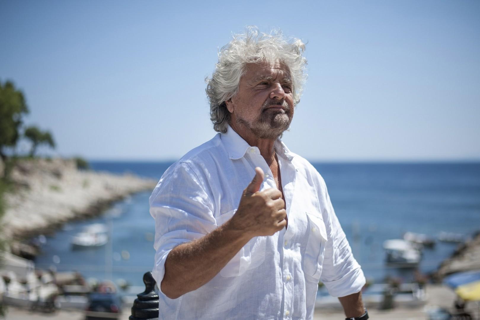 Beppe Grillo (foto: epa)