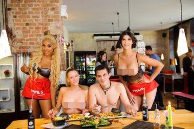 V Italiji odpirajo prvo restavracijo za nagce 1