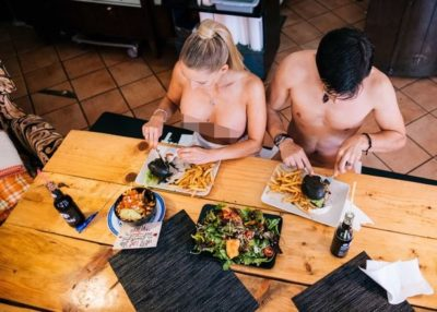 V Italiji odpirajo prvo restavracijo za nagce 2
