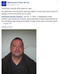 Facebook London Metropolitan Police Services