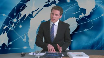 Voditelj Jure Ferjan (foto Nova24TV).