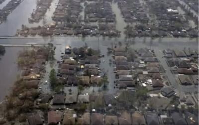 Poplavljena Lousiana (foto: printscreen/Youtube).