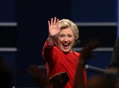 Ameriska predsedniska kandidata sta opravila prvo televizijsko soocenje. Demokratska predsedniska kandidatka Hillary Clinton.