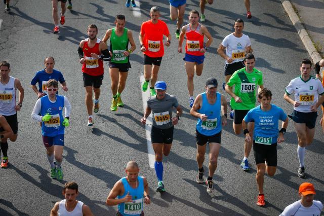 21. ljubljanski maraton Volkswagen (foto: STA)
