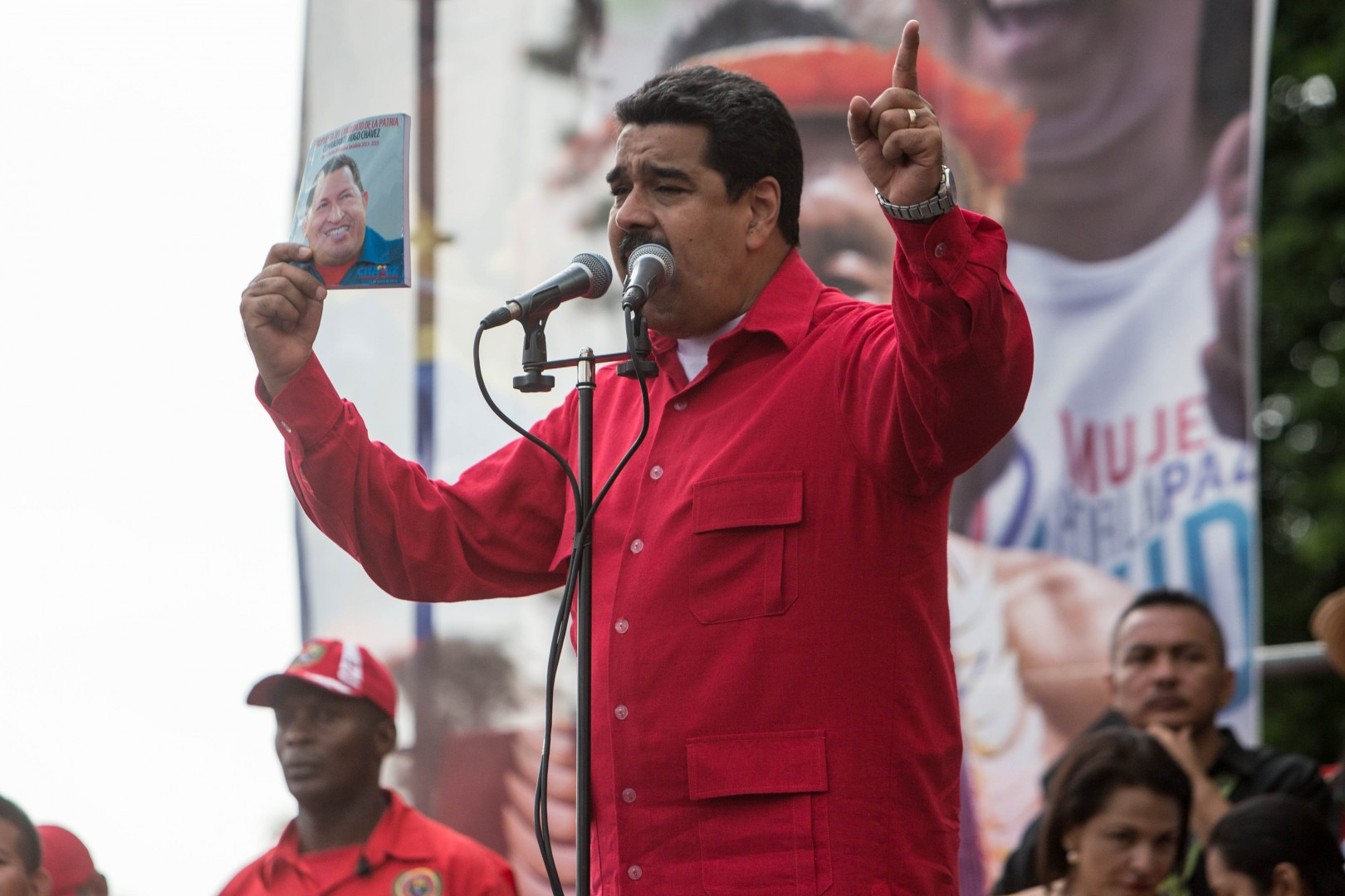 Nicholas Maduro (foto: epa)