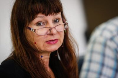 Poslanka Združene levice Violeta Tomić (foto: STA).