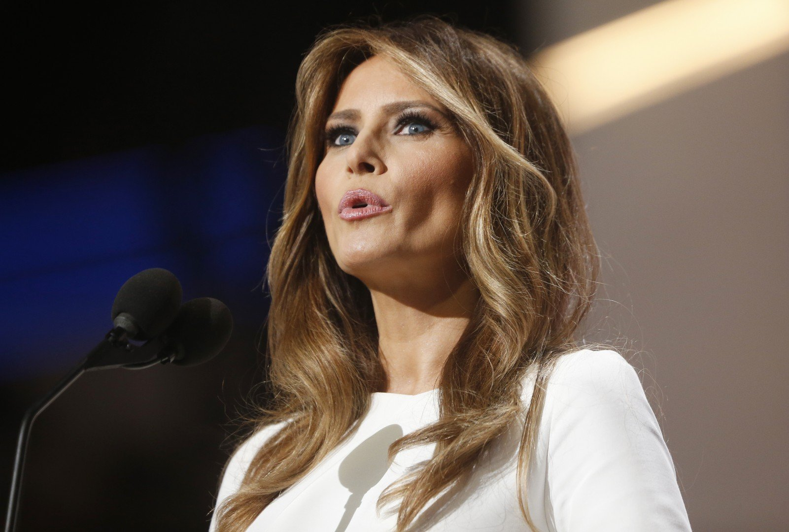 Bodoča prva dama ZDA Melania Trump. (Foto: STA)