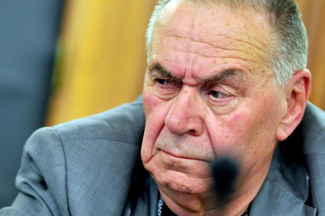 Predsednik Zveze združenj NOB Tit Turnšek še vedno molči o pobojih (foto: STA)
