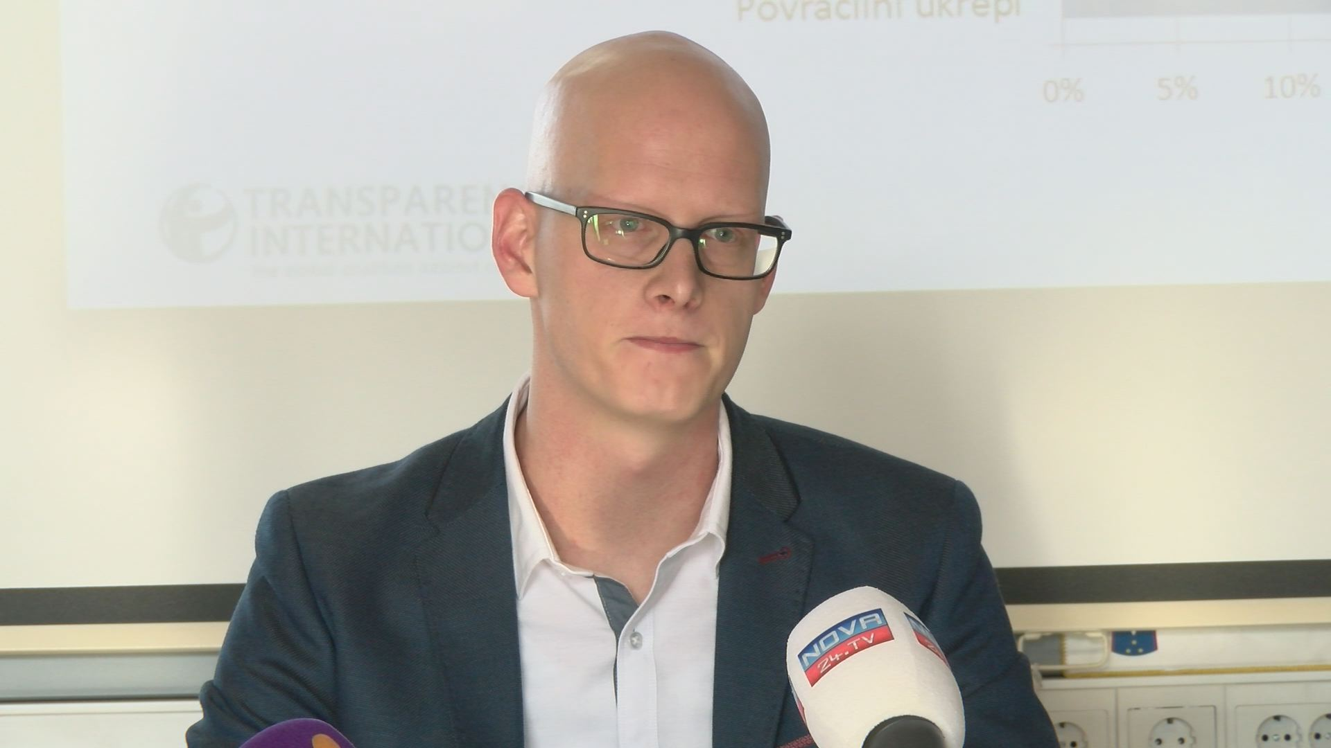 Jan Doria, generalni sekretar Transparency International Slovenia (Foto: Nova24TV)