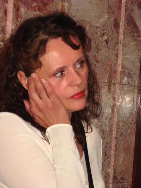 Dramska igralka Dragica Potočnjak, avtorica knjige Skrito povelje (foto: STA)