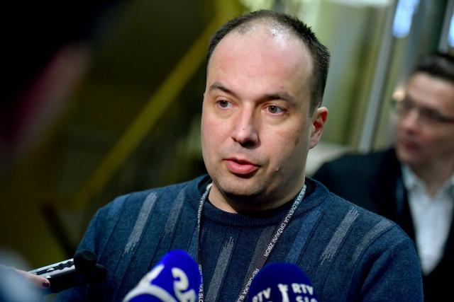 Direktor Infonet media Leo Oblak. (foto: STA)