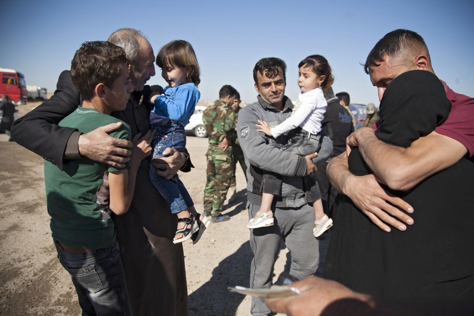 Mosulski osvobojenci (Foto: epa).