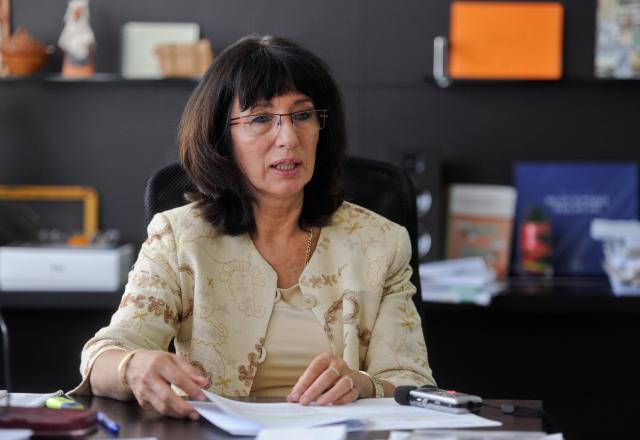 Nekdanja državna sekretarka na ministrstvu za šolstvo Mojca Škrinjar (foto: STA)