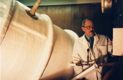 Robert Ettinger, ustanovitelj inštituta, ki se je dal prav tako zamrzniti. Foto: epa