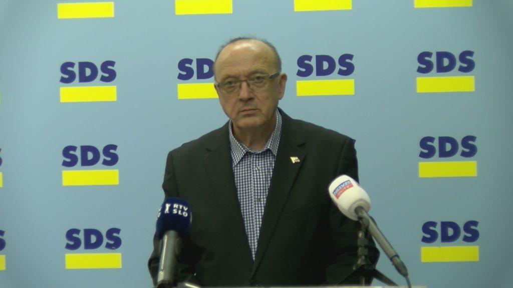 Dr. Vinko Gorenak, poslanec SDS (Foto: Nova24TV)