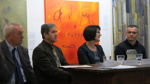 Novinarska konferenca o Krekovem letu. (Foto: STA)