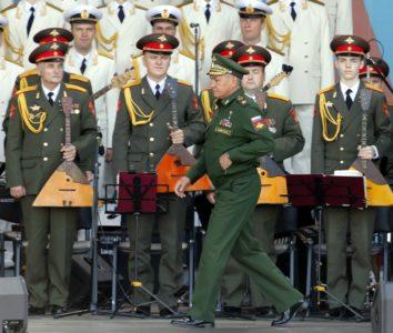 Foto: Epa Šoguj na vojaški paradi