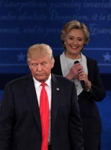 Donald Trump in Hillary Clinton. Arhiv STA.