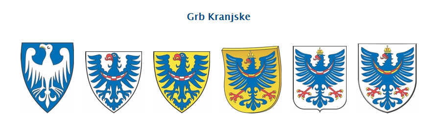 Grb dežele Kranjske se je pojavil že v 13. stoletju
